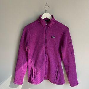 Patagonia Purple Better Sweater Zip Up Fleece
